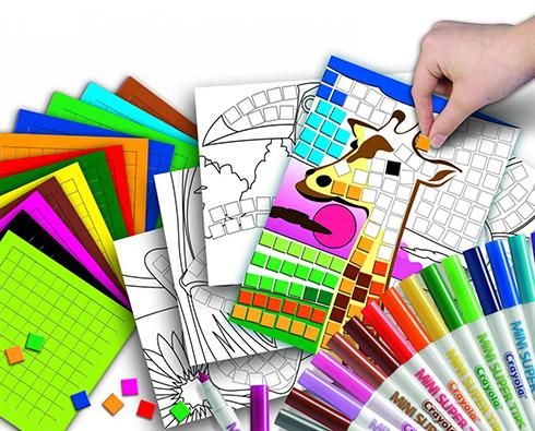 товары для детского творчества в омске